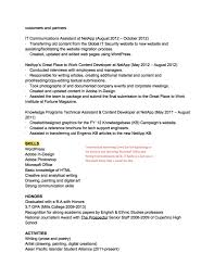 How To Write An Activities Resume For College Résumé Teardown You Know You U0027re Creative But Do Employers