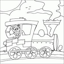 train coloring pages printable train transportation coloring
