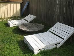 Patio Pallet Furniture Plans by Shoestring Pavilion Pallet Loungers