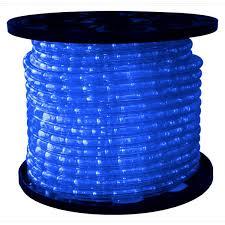 1 2 in led blue rope light 150 ft spool 120 volt