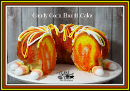 halloween candy cake candy corn bundt cake a halloween treat thisdivacooks