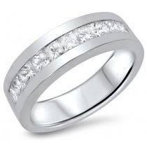 14k white gold mens wedding band men s wedding bands mens wedding rings mens engagement rings