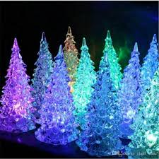 led christmas tree lights 2018 crystle led christmas tree light colorful tree