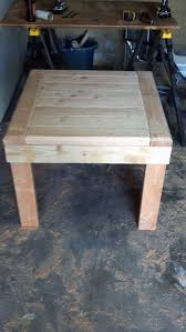 2x4 Outdoor Furniture by 2 By 4 End Table Couples Woodworking And Wood Projects