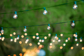 new ideas strings of outdoor lights and how to hang outdoor