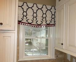 Mock Roman Shade Valance - valances in or out