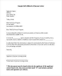letter of affidavit template letter idea 2018