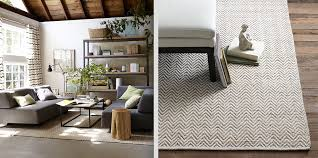 decorating contemporary herringbone rug for living room
