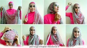 tutorial hijab segitiga paris simple tutorial hijab segi empat modern untuk kebaya tutorial hijab