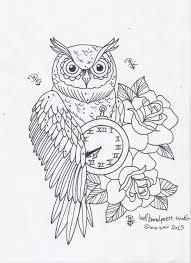 37 best wisdom owl tattoo outline images on pinterest owl