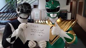 Black Power Ranger Meme - kid who wants to be power ranger when he grows up gets messages of