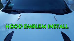 camaro badge 2016 camaro emblem install vlog