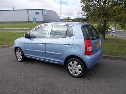 kia picanto 1 0 lx hatchback 5 door stunning blue only 58k miles
