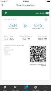 frontier baggage fees frontier airlines on the app store