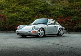silver porsche 1990 porsche 911 carrera 2 964 silver u2013 original rare