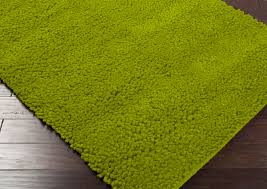 Solid Color Rug Green Shag Rug Roselawnlutheran
