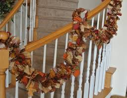 fall garland various fall decorations for your home this season