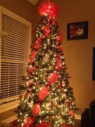 wide mesh ribbon the organized how to decorate a christmas tree with wide