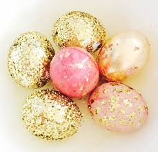glitter easter eggs easter crafts 3 egg painting projects you ll actually want to