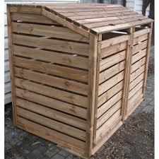 fabriquer cache poubelle poubelle en bois u2013 myqto com