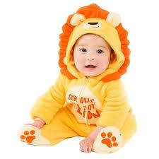 Baby Lion Costume Infant Boys U0026 Girls Little Lion Costume Plush King Of Jungle