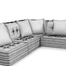 Roche Bobois Contemporary Sofa Bobois Sectional 3d Model