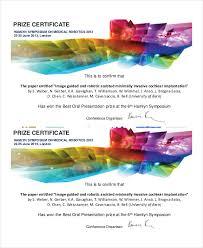 symposium certificate templates imts2010 info