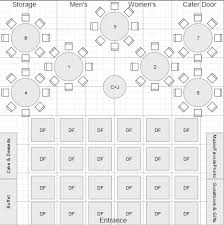 reception floorplan layout which one poll weddingbee