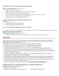 Resume For Summer Job College Student by Resume
