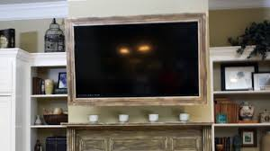 how to build a custom tv picture frame today u0027s homeowner