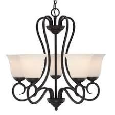 Commercial Electric Chandelier Commercial Electric 5 Light Oil Rubbed Bronze Reversible