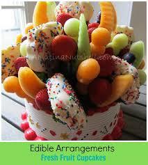 edible food arrangements edible arrangements fresh fruit confetti cupcakes giveaway eat