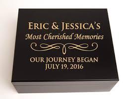 engraved memory box engraved memory box etsy