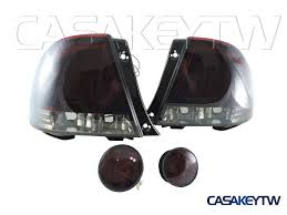 lexus is300 tail lights lexus is200 is300 led red smoke tail lights rear trunk led