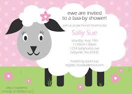 sheep baby shower shower invitesbyme