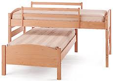 Pacific Rim Maple FourinOne Sleep System Maple Beds - Lo line bunk beds