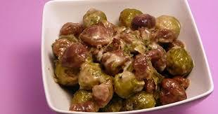cuisiner les choux de bruxelles choux de bruxelles aux marrons simple gourmand recette par
