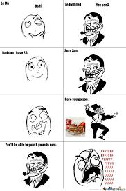 Troll Dad Meme - meme faces troll dad