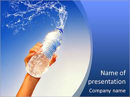 Water Powerpoint Templates by Bottled Water Powerpoint Template Backgrounds Id 0000007879