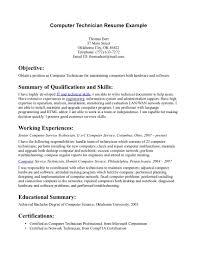 network technician sample resume resume peppapp
