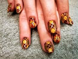 30 best thanksgiving nails designs ideas 2016 fabulous