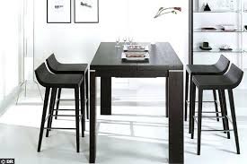 cuisine style bar table haute de cuisine emejing table haute style bar photos
