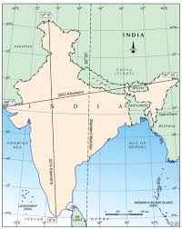 Map Of Nepal And India by India U2013 Size And Location Aglasem Schools