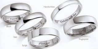 engraving on wedding rings personal engraving service for brown and newirth rings