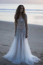 chic designs of boho wedding gowns for brides weddings eve