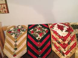 Holiday Table Runners by Holiday Quilts Needle And Foot