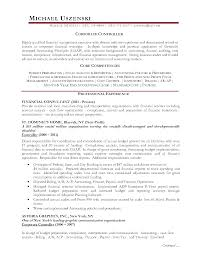 Controller Resume Objective Examples Controller Sample Resume