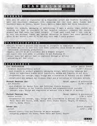Casual Resume Resume U2014 Dean Salamone