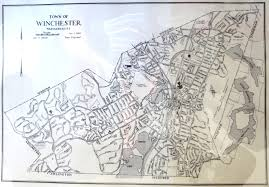 Massachusetts Town Map by Printed And Online Maps U2014 Winchester Public Library