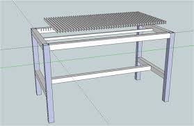 Welding Table Plans by Welding And Plasma Table Design S The Garage Journal Board